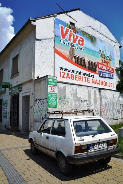 Dele van Novi Sad is maar vervalle