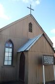 Die delwerskerkie in die Kimberley Mynmuseum