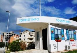 Die vriendelike toerismekantoor in Budva