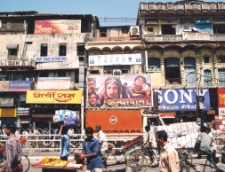 Chaoties, maar lekker in Chandi Chowk