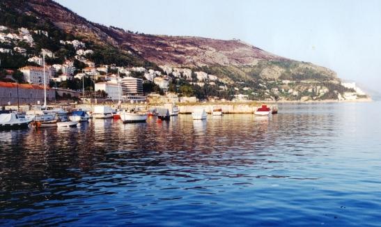 In 2000 was daar net 'n paar bootjies in die hawetjie van Dubrovnik