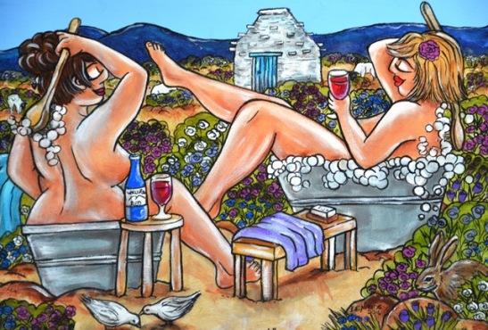 Speelse Karoo-porno skilderye vier die lewe by Williston Mall