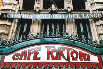 Cafe Tortoni is die bekendste koffiewinkel in Buenos Aires