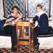 Ek en Phoebe van Reenen in 2000 in Tallinn