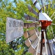 'n Windpomp van Springbok by die museum in Loeriesfontein