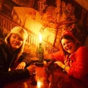 My en Vicki Grimwood se laaste middagete in Tallinn in 2014