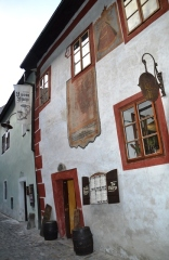 The House At Two Marys is in 'n stil stegie in die hartjie van Cesky Krumlov