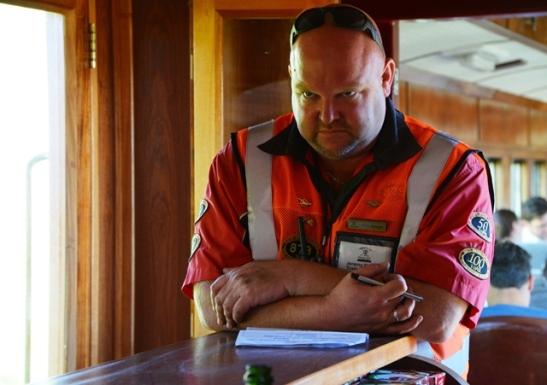 Almal wat op Ceres Rail Company se treine werk, is so trots en passievol oor hul werk dat 'n mens trane in jou oe kry