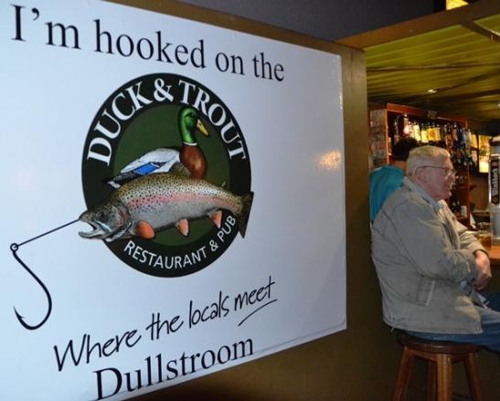 Duck & Trout is 'n gewilde bymekaarkomplek vir jonk en oud