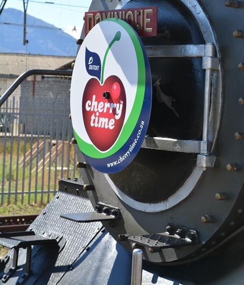Haar naam is Dominique en sy is 'n pragtige, elegante lokomotief waarop Ceres Rail Company baie trots is