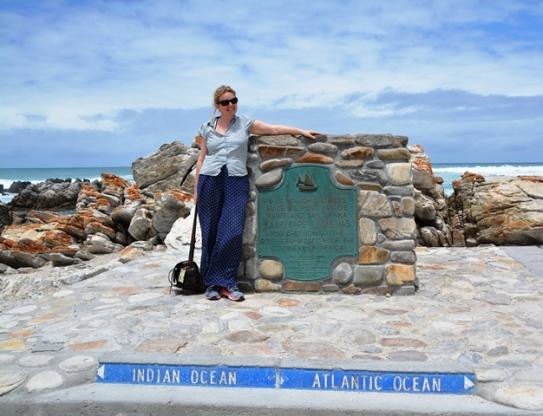 Maria Drangel van Swede by die suidpunt van Afrika