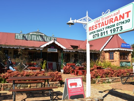 Outydse gasvryheid by The Old Transvaal Inn in Dullstroom