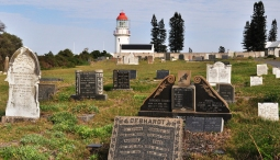 Hood Point Lighthouse in East London beckons beyond