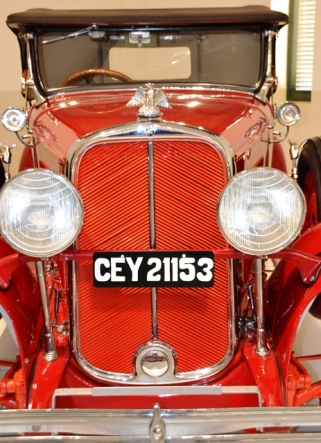 A vintage beauty at the Franschhoek Motor Museum