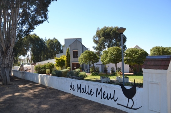 De Malle Meul has a garden for kids to play, mandala art to look at and learn and a Sunday buffet that serves boerekos including tripe