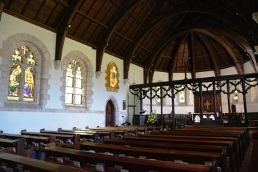 Die binnekant van die Groot Kerk van St George