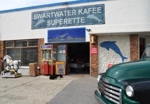 Die mees suidelike kafee in Afrika moes 'n tydelike naamsverandering ondergaan toe dit deel van 'n TV-reeks uitgemaak het