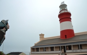 The southernmost lighthouse in Africa