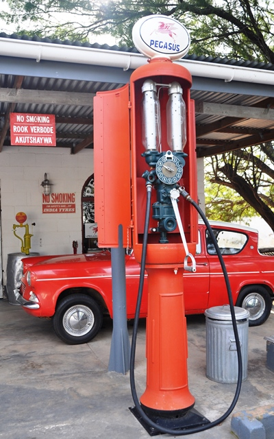 The owner of the Pegasus Early Motoring Museum, Jurie Prinsloo, has a predilection for Fords