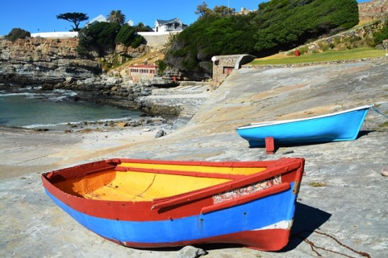These little boats had oars only; no boat engines were used when these were still used for fishing