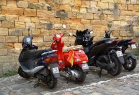 Bekostigbare en gerieflike eenmanvervoer in die platteland van Frankryk