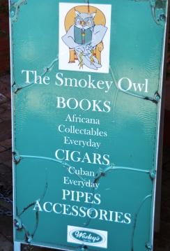 Bookworms will enjoy The Smokey Owl