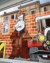 Die dorpie Libourne raak al gewilder as toeristebestemming; gevolglik maak al hoe meer oulike winkeltjies en eetplekkies hul deure oop