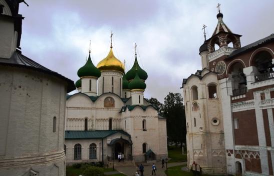 Die dorpie van Suzdal is klein, maar die ikoonmuseum by die Saviour Monastery of St Euthymius is ongeewenaar