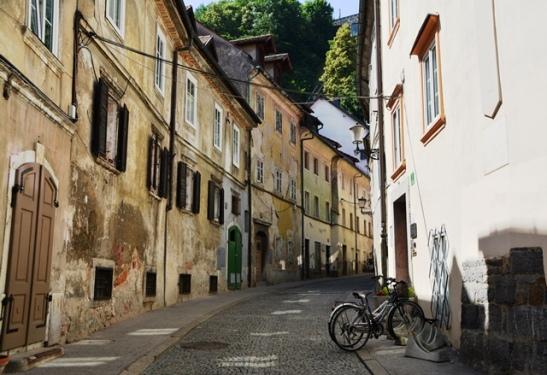 Die een stegie na die ander verlei jou in Ljubljana
