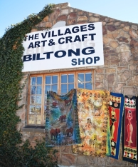 Dullstroom has an abundance of arts and crafts as well as a biltong shop, rock shop and a bead shop