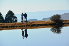 Dullstroom is famous for its fly fishing; passionate and patient guides at Walkersons take guests through the paces