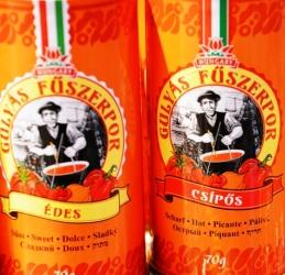 Hongaarse paprika is soet, skerp of gerook
