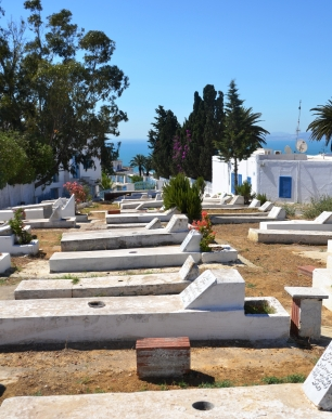 In Tunisia het baie begraafplasies see-uitsigte