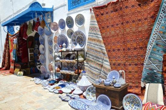 Onmoontlik om te weerstaan as jy in Sidi Boe Said rondloop