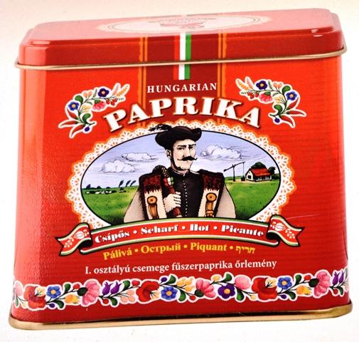 Paprika is sinoniem met Hongarye
