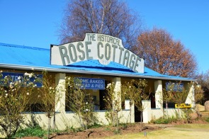 The Historical Rose Cottage is known for their home-baked bread and pies as well as for their trout dishes