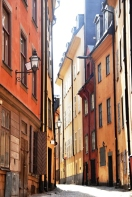 A quiet morning in Gamla Stan