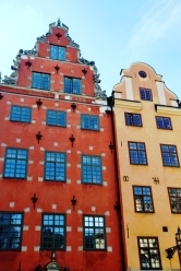 On the main square of Gamla Stan