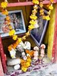 In die Hindoe-geloof word die kleur van saffraan oftewel die oranje skakering bhagwa genoem