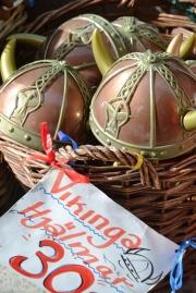 Viking hats in a basket