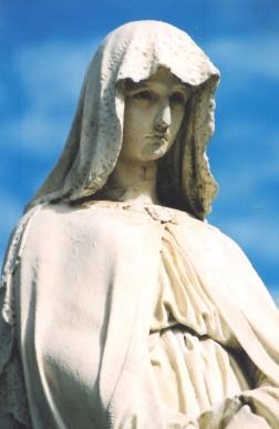 'n Hartseer engel in Recoleta