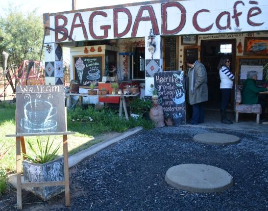 Bagdad Cafe op die Knersvlakte is allesbehalwe 'n gewone kafee of koffiedirnkplek