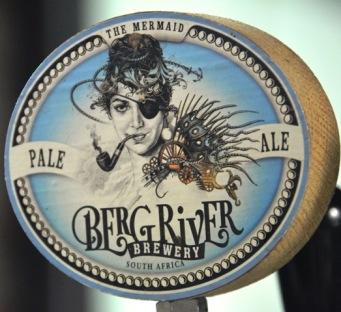 Die biername by Berg River Brewery bring hulde aan 'n pyprokende meermin, 'n admiraal en 'n kaptein