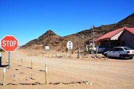 Die grenspossie aan Namibie se kant
