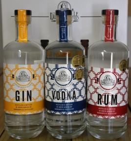 Durbanville Distillery se produkte pronk op 'n ry