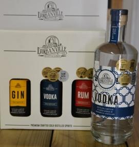Durbanville Distillery se vodka het al 'n rits pryse verower