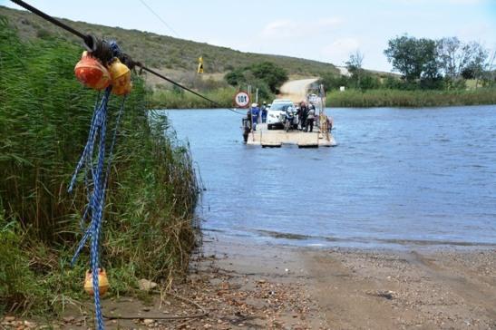 Malgas se pont is die enigste handgedrewe pont in Suid-Afrika