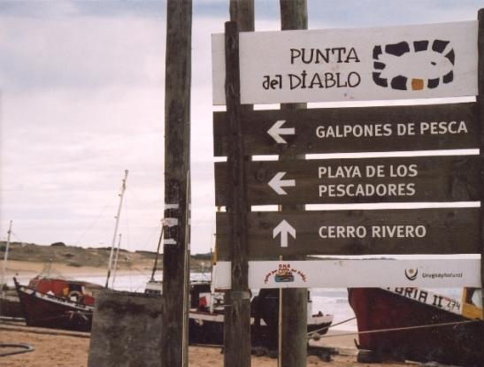 Punta del Diablo, a tiny fishing village in Eastern Uruguay
