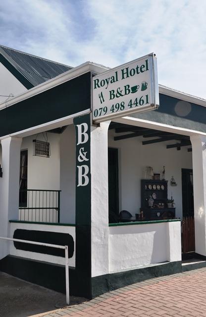 Die Royal Hotel is 'n gewilde oornagplek