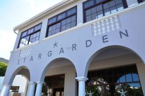 Stargarden Boutique Cafe in Fish Hoek has scrumptious food in a leafy green setting